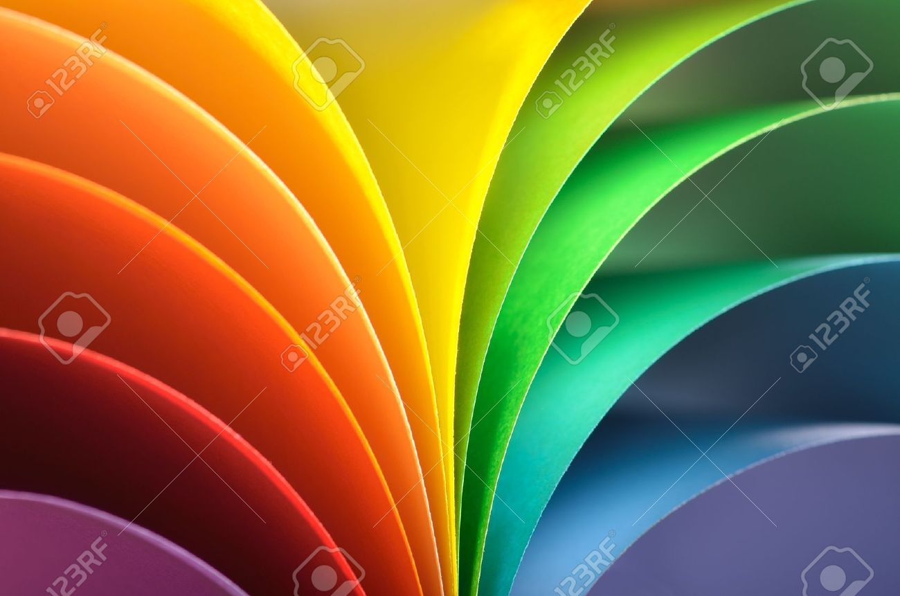 20932021 Abstract Rainbow Background With Colored Paper Stock Photo Print Cmyk